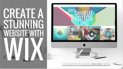 New Wix Tutorial! How to Make a Stunning Website!
