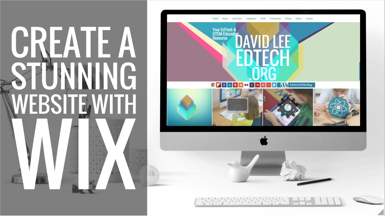 New Wix Tutorial! How to Make a Stunning Website! - YouTube