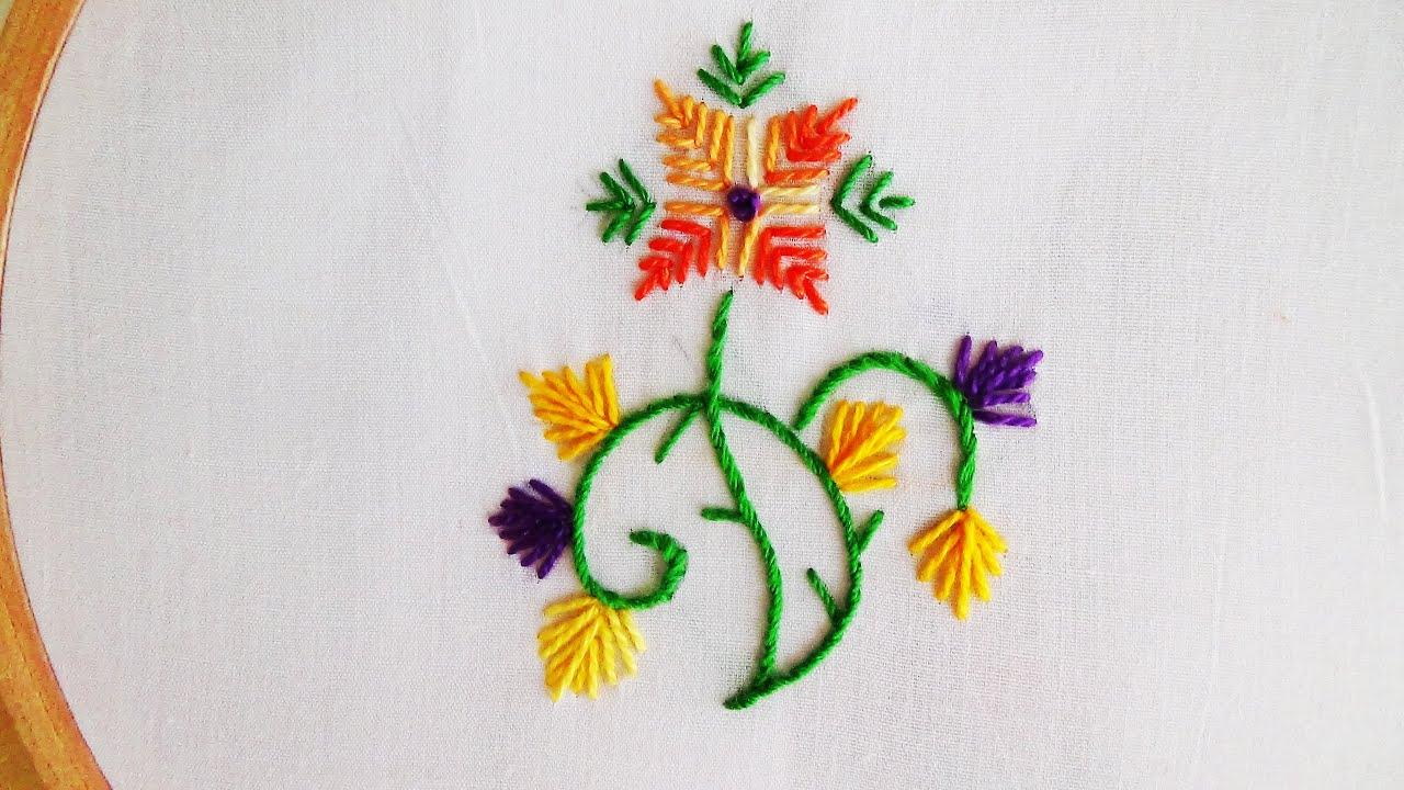 Straight Stitch Embroidery Designs