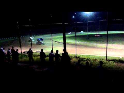 Jordan Creason's LA Raceway part1 5/11/12 305 sprints