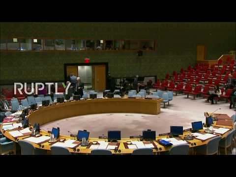 LIVE: Emergency UN Security Council meeting on Jerusalem