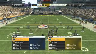 Madden NFL 25: First Game New York Giants vs Pittsburgh Steelers Gameplay