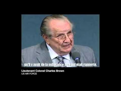 OVNI Témoin N°2 : Lt Col. Charles BROWN