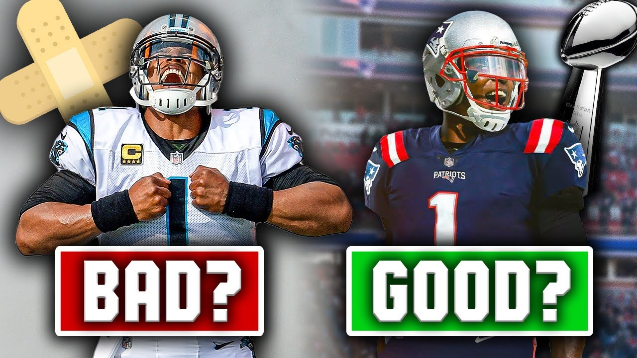 5 Reasons Why Signing Cam Newton Is GOOD For The Patriots… And 5 Reasons Why It's BAD