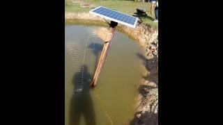 Oxigenador solar para tanque