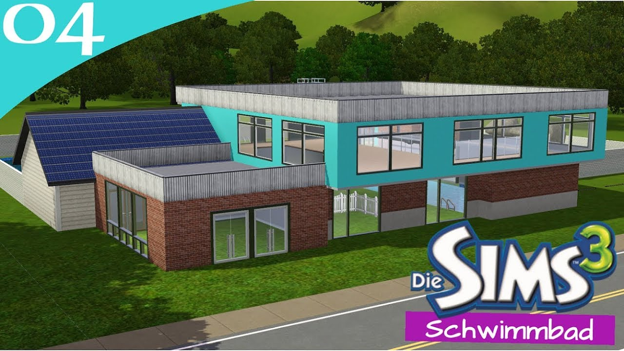 Hausbau Reihe 6 04: Schwimmbad [Letu0027s Build Sims 3 Haus]