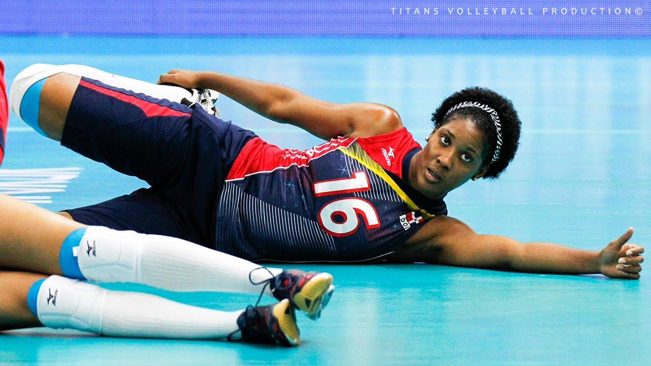 Top 10 Fantastic Volleyball SPIKES by Yonkaira Paola Pena Isabel | World Grand Prix 2017