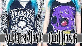 ALTERNATIVE CLOTHING HAUL ☠
