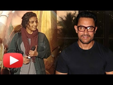 Vidya Balan FUNNY Comment On Being Called Lady Aamir Khan
