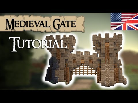 Minecraft Tutorial: Medieval GATE (English)