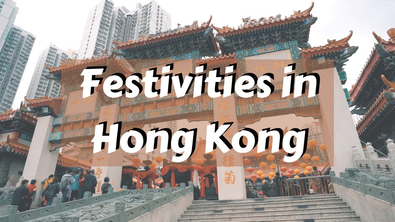 Festivities in Hong Kong