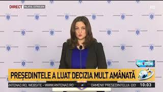 Președintele Iohannis a decis revocarea șefei DNA, Laura Codruța Kovesi