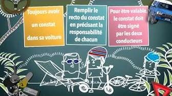 Consomag : Constat européen d'accident : ce qu'il faut savoir !