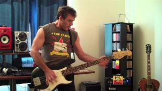 White Riot bass cover - The Clash (cover)