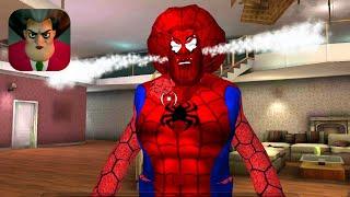 Scary Teacher 3D - New Teacher Spider-Man Part 1 Gameplay Walkthrough (Android IOS)