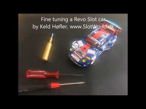 Setup a Revo Slot car