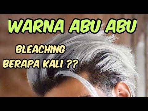 WARNA RAMBUT ABU ABU - Harus BLEACHING RAMBUT Berapa Kali ? Ash Grey