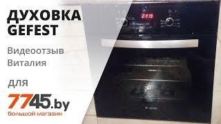 Шафа духовий електричний GEFEST ЕД ТА 622-02 А Видеоотзыв (огляд) Віталія