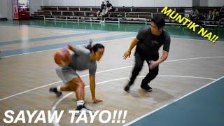 MAY HUMAMON NG 1 ON 1!! PINASAYAW KO!! // YEEZY BASKETBALL REVIEW!! SOBRANG MAHAL NITO!! | vlog 452