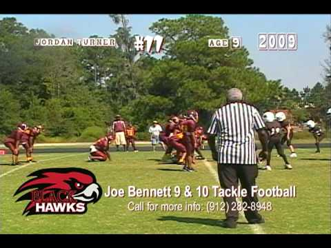 Jordon Turner 2009 Highlights (Coached by Joe Bennett of Waycross, Georgia)