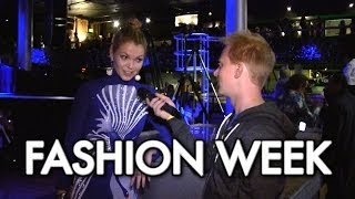 Joe Goes To FASHION WEEK