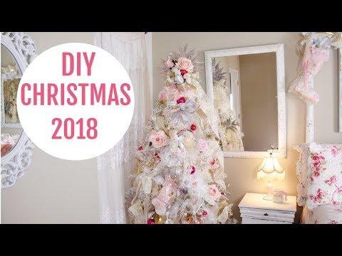 🎄CHRISTMAS DECORATING / DOLLAR TREE DIYS / CHRISTMAS 2018