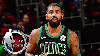 Kyrie Irving does not miss the mask and is impressed with Jayson Tatum after win vs. Pistons | ESPN thumbnail