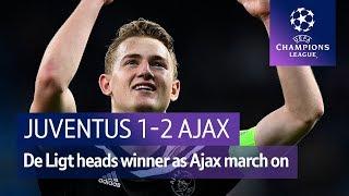 Juventus vs Ajax (1-2) | UEFA Champions League Highlights