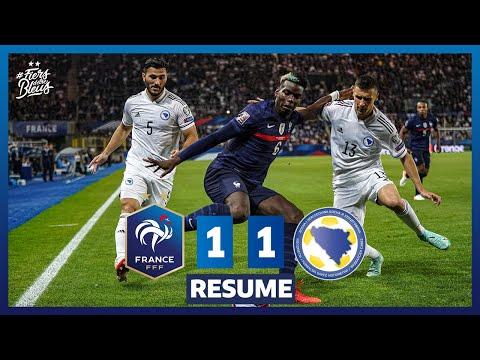 France 1-1 Bosnie-Herzégovine, le résumé I FFF 2021