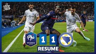 France 1 1 Bosnie Herzégovine le re sume I FFF 2021