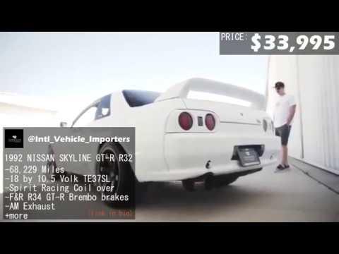 1992 NISSAN SKYLINE GT-R R32 FOR SALE IN LONG BEACH, CALIFORNIA