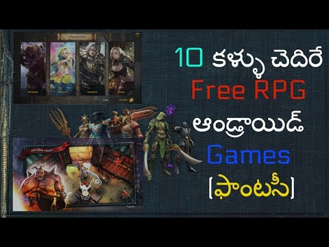10 Best Free RPG Games For Android 2017 (Fantasy/Adventure Category)