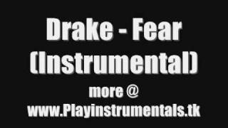Drake - Fear (Instrumental)