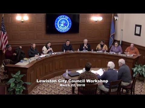 City Council Workshop 03/22/2018