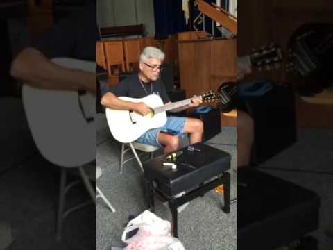 9-23-16 Bluejacket Chapel, guitar tuning and repairs day