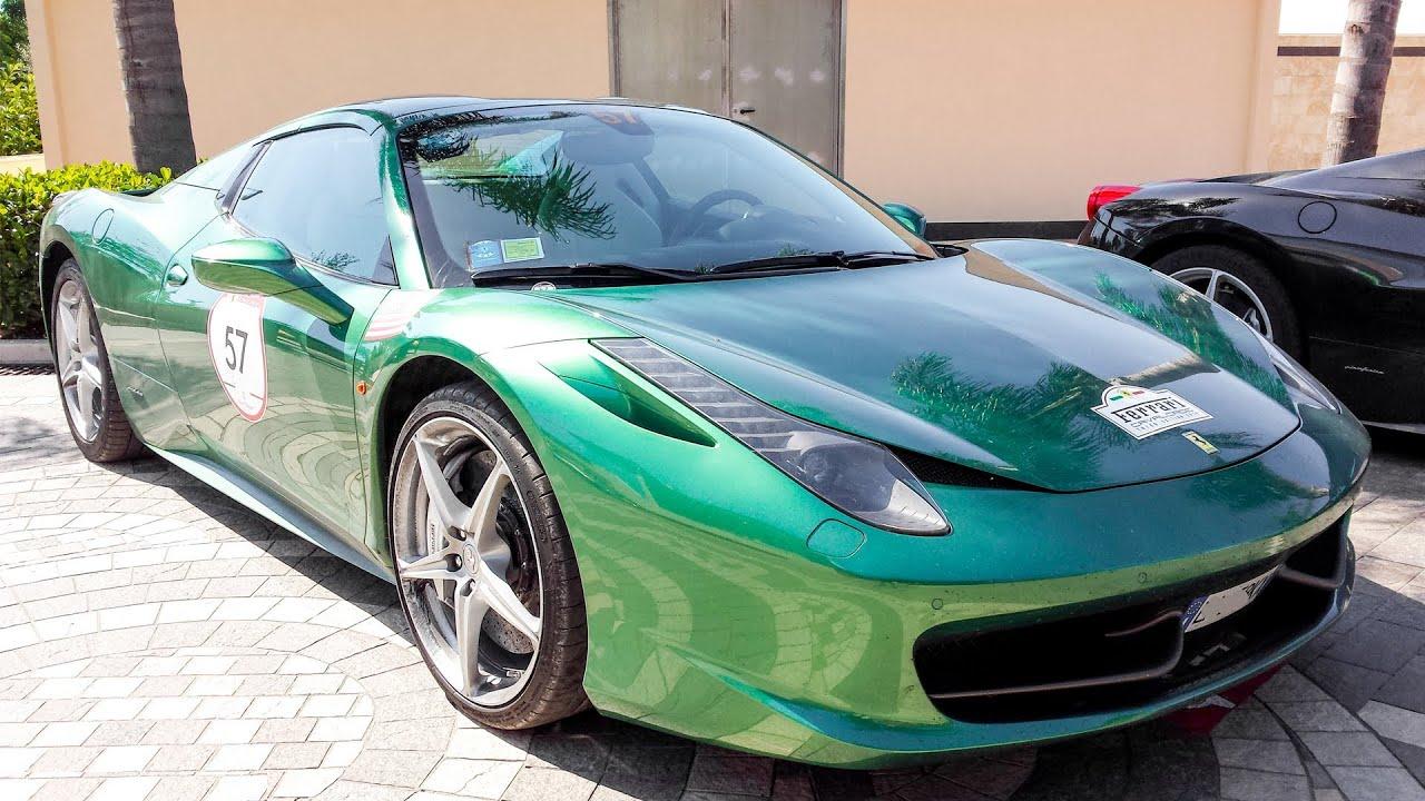 bottle green ferrari 458 spider ferrari cavalcade 2014 hq - Ferrari 458 Spider Green