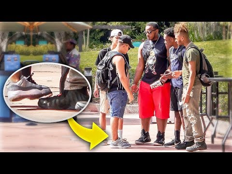 Stepping On Hypebeast Sneakers!