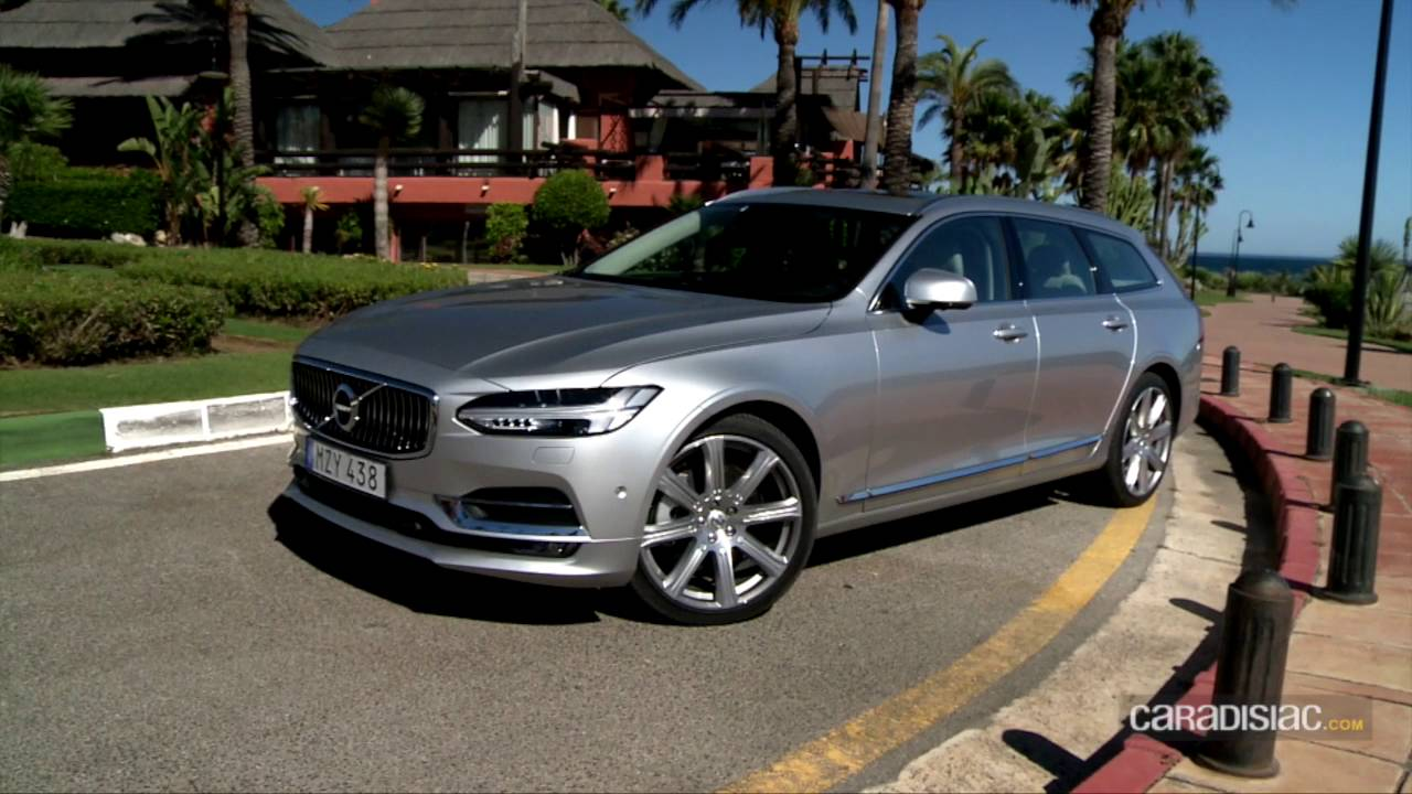 essai vid o volvo v90 2016 techno cargo youtube. Black Bedroom Furniture Sets. Home Design Ideas