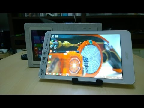 Worlds 1st Retail Acer Iconia Tab 8W ( 8 W ) Review