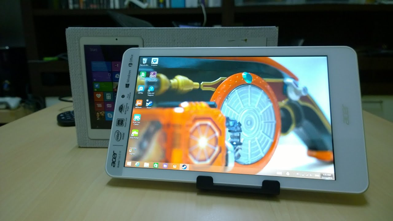 Acer Iconia 8W: Cheap Windows Tablet in the Test