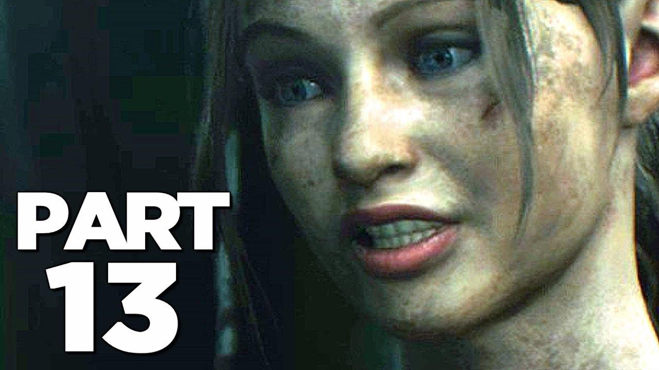 RESIDENT EVIL 2 REMAKE Walkthrough Gameplay Part 13 - BIRKIN (RE2 CLAIRE)