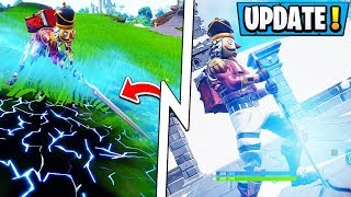 *NEW* Fortnite 7.01 Update! | Infinity Blade Gameplay - How The Sword Works!