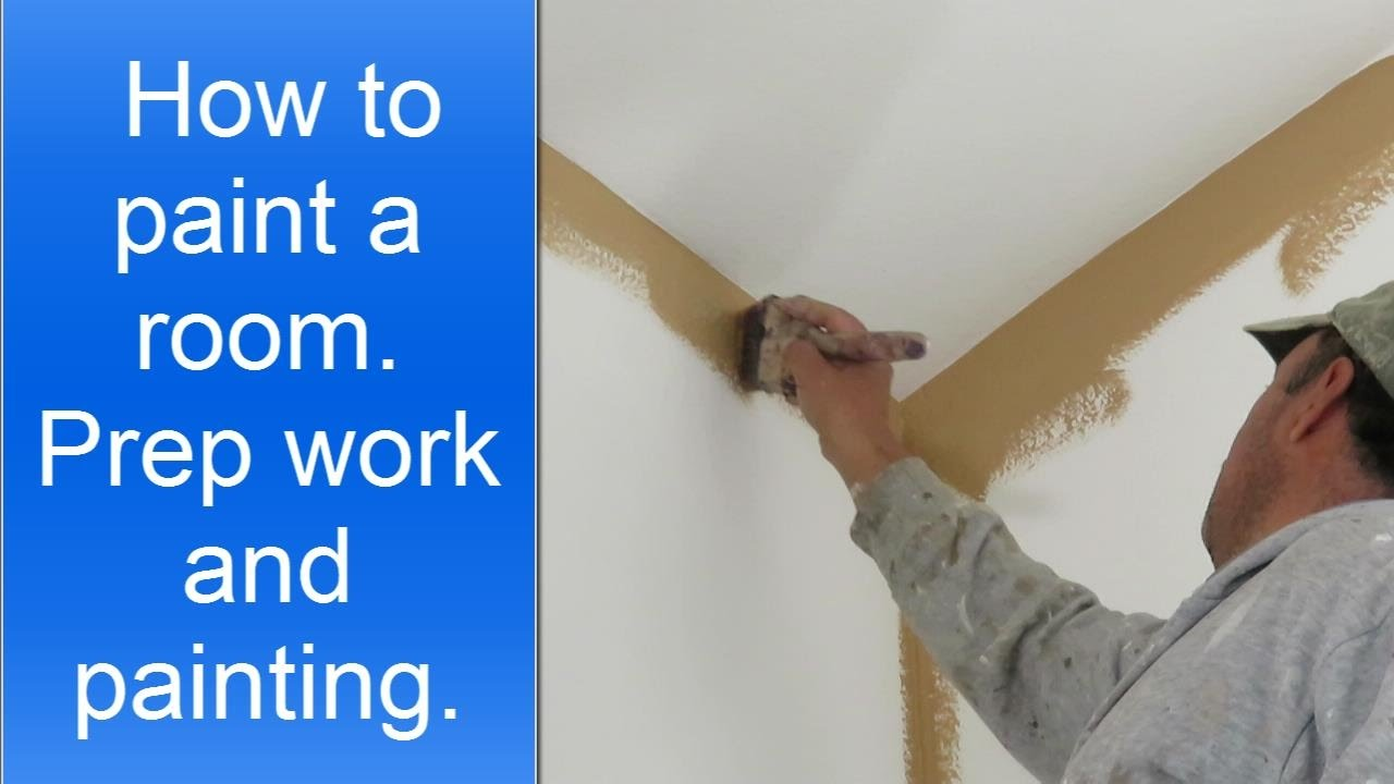 How To Paint A Room Professionally Youtube