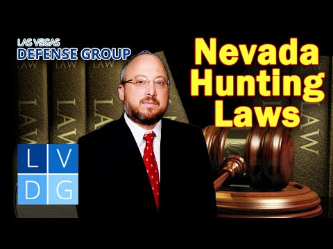 Nevada Hunting Laws -- 3 Things To Know: Licenses, Tags, Classes & Crimes