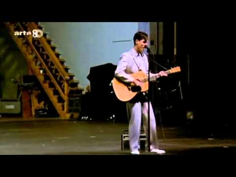 Talking Heads - Psycho Killer (David Byrne Solo Live)