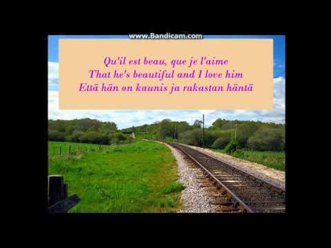 Celine Dion  Je Lui Dirai Lyrics FR  ENG  FIN