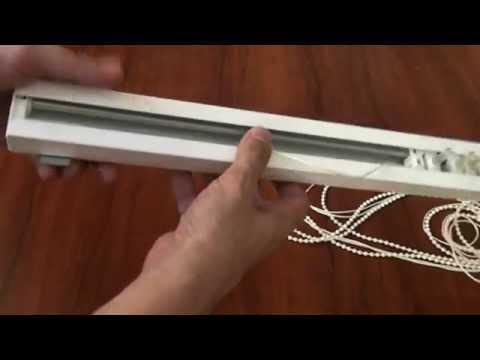 Как снять карниз вертикальных жалюзи