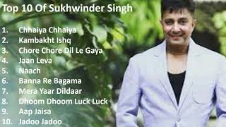 Top 10 Of Sukhwinder Singh II Best Of Sukhwinder Singh II Evergreen Hindi Songs Of Sukhwinder Singh