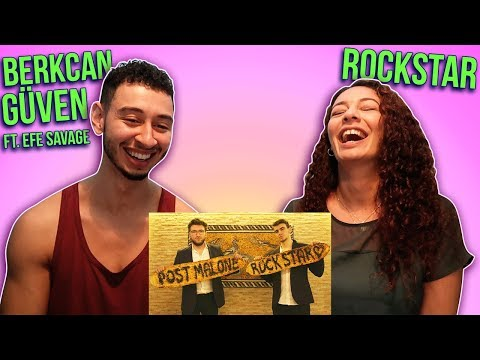 BERKCAN GÜVEN ROCKSTAR FT. EFE SAVAGE (Post Malone Rockstar Arabesque Cover) Reaction | Jay & Rengin