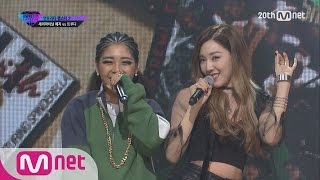 unpretty rapstar2 ruedy boogie – truedy feat tiffany of gg semi final ep10 20151113
